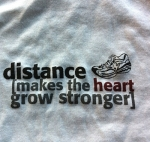 distance makes the heart grow stronger