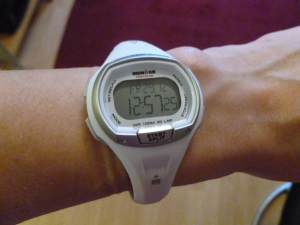 gadgets timex white watch