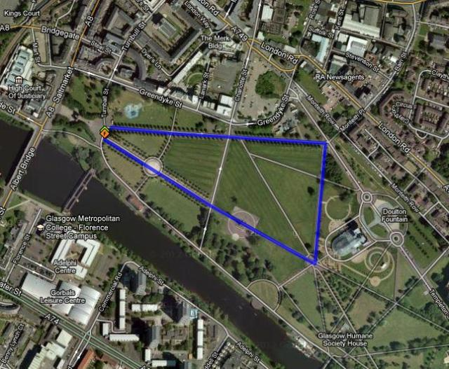 Glasgow Green Loops