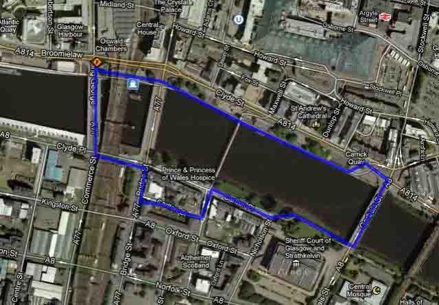 KR 1 mile loop