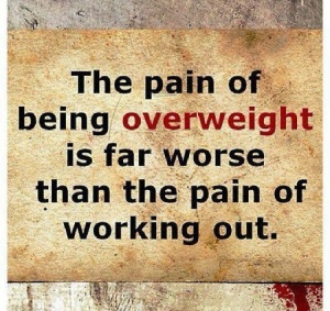 pain being overweight
