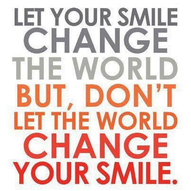 Let Your Smile Change The World Lorn Pearson Trains