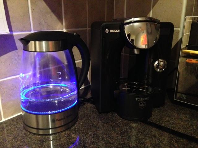 My new Tassimo T55 coffee maker Lorn Pearson Trains?